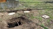 Les fosses du sanitaire vont être nettoyées