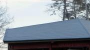 Après...le même toit refait à neuf...