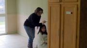 Nathalie et Zoé très concentrées