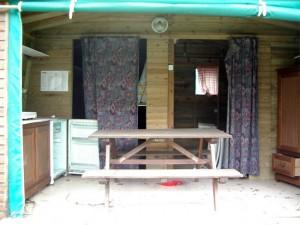 Cabane ouverte