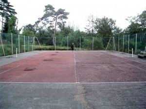 Francoise s'occupe du tennis
