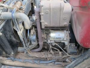 Vue générale du moteur