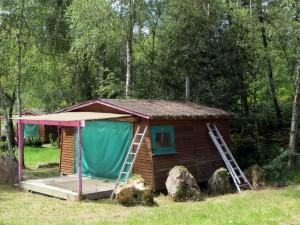 La cabane à rénover
