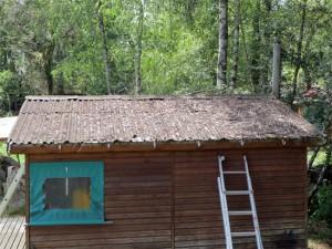 Le toit vu de près