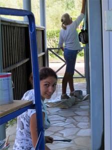 Un bloc sanitaire aux petits soins