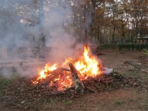 Un feu énorme