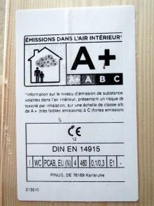 Lambris a+ = Plus d'air pur