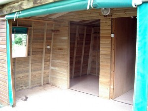Une cabane avant travaux
