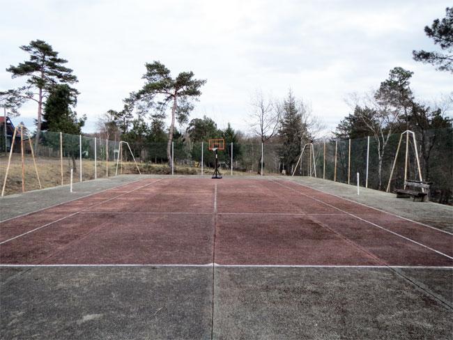 Un terrain de tennis en pleine volution parenth ses imaginaires - Combien coute un terrain de tennis ...