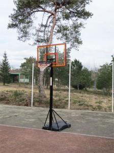 Notre nouveau panneau de basket