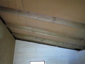 Un plafond sans lambris