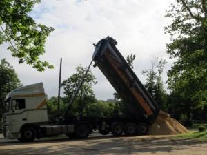 Un camion benne très efficace