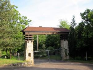 Le portail après