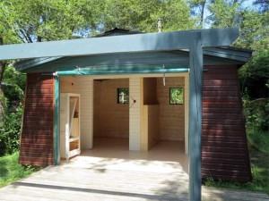 La huitième cabane est prête