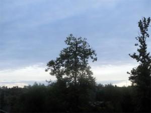 La journée démarre sur un ciel incertain
