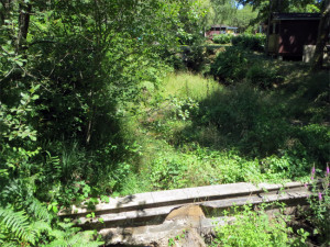 Un barrage abimé