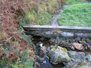 Un barrage tout cassé