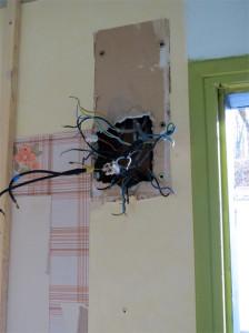 Un tableau électrique encore plus en  vrac