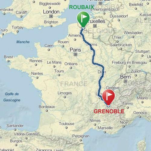 Roubaix-Grenoble