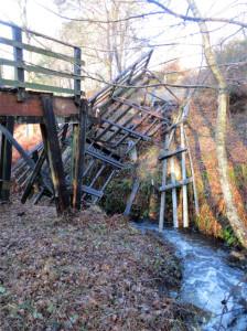 Un pont mal en point