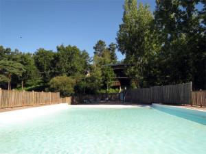 La piscine d'un autre côté