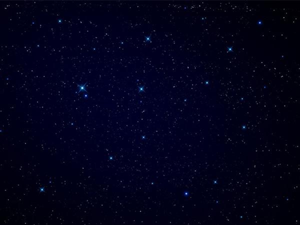 Un exemple de ciel étoilé