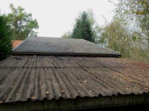 Le toit bien malade