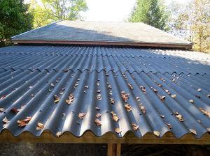 Le nouveau toit est posé