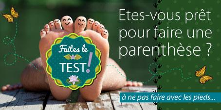 le petit test Parenthèses imaginaires