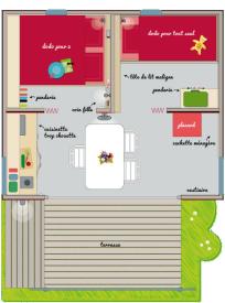 plan cabane 3 personnes - Parenthèses imaginaires