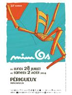 affiche mimos -Périgueux