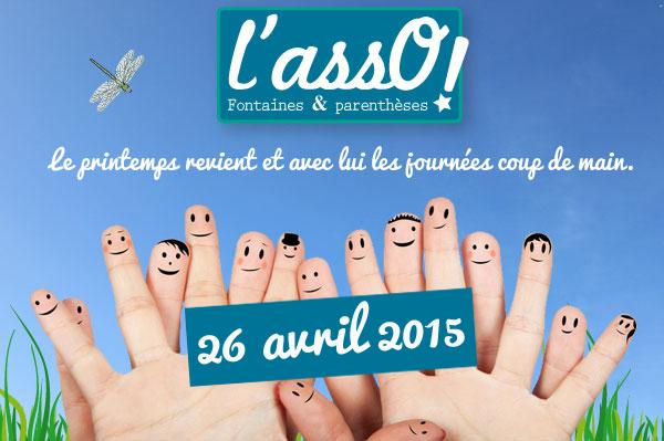 Journée coup de main 26 avril 2015