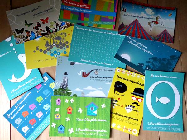 Cartes postale Parenthèses imaginaires