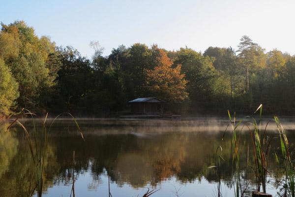 Zoom 1 sur la cabane du pêcheur