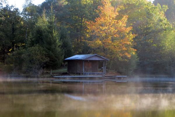 Zoom 2 sur la cabane du pêcheur
