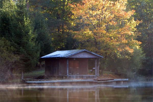 Zoom 3 sur la cabane du pêcheur