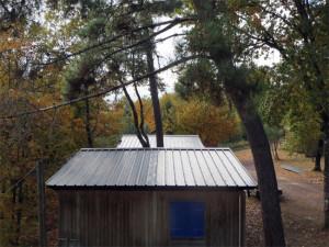 Plan large sur la toiture