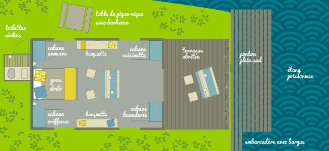 plan cabane du pêcheur - Parenthèses imaginaires
