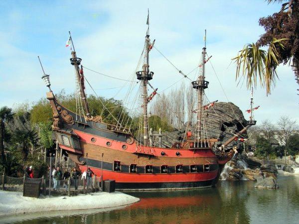 Le galion de Disneyland