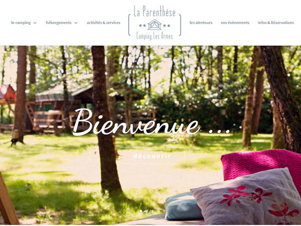 La parenthèse - Camping Les Ormes