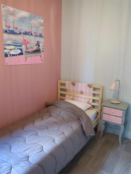 La chambre des enfants du chalet vintage