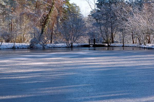 Le bassin des celtes est gelé