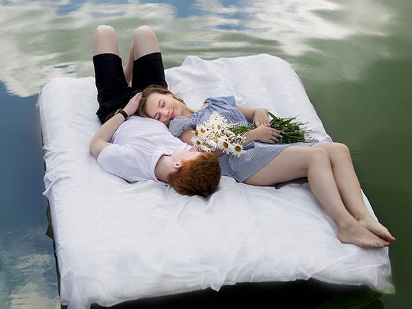 linge de lit recyclable