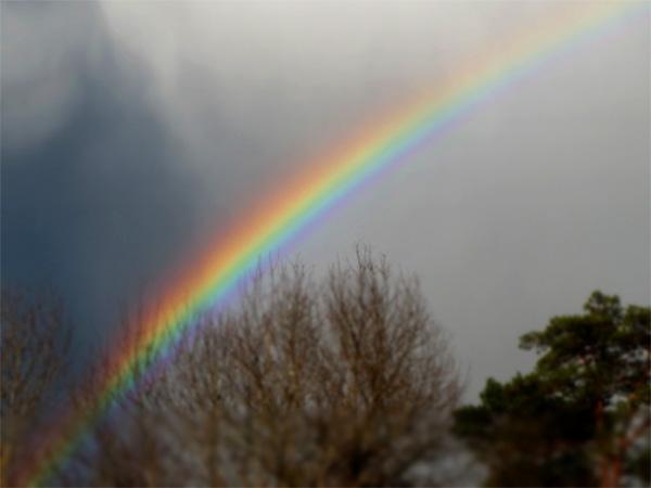 Arc en ciel à Parenthèses imaginaires