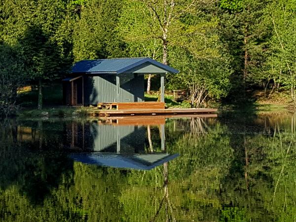 Reflet de cabane