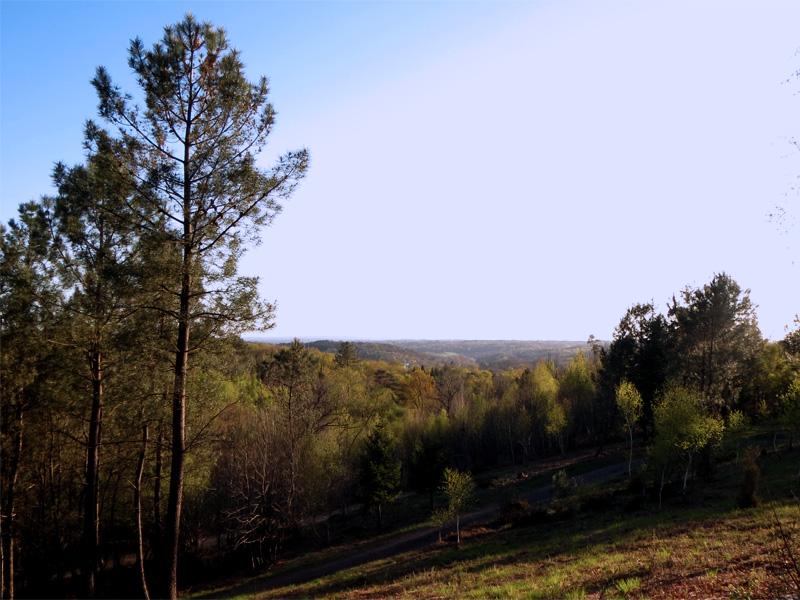 Panorama depuis Parenthèses imaginaires